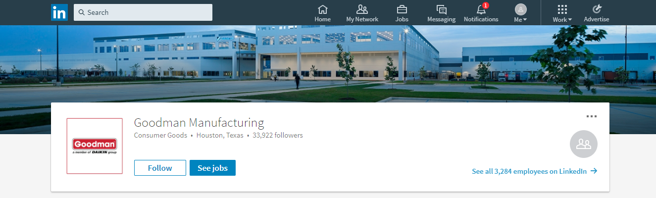 Goodman Manufacturing-LinkedIn-Profile.png