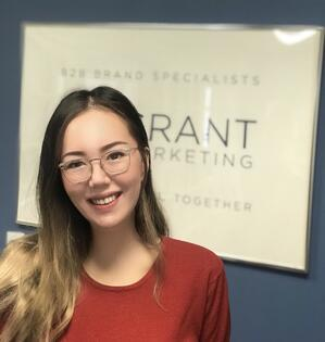 Madina Madraimova join Grant Marketing