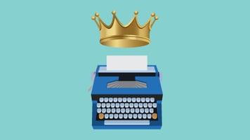 king-typewriter
